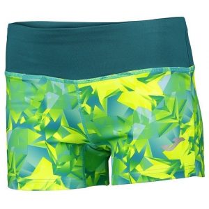 SHORT JOMA TROPICAL AMARILLO (ESTAMPADO)