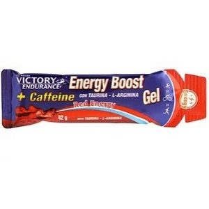 GEL ENERGY BOOST VICTORY ENDURANCE CAFEÍNA RED