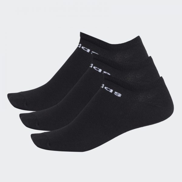CALCETINES ADIDAS LOW CUT NEGROS